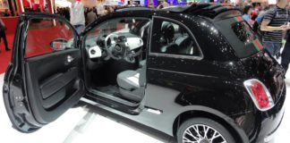 Fiat 500 by Gucci, Genève 2012