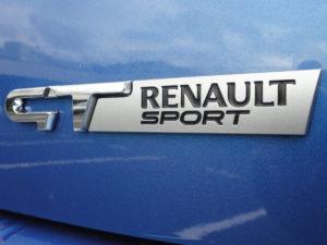 "Clio Gordini badgée ""GT Renault Sport"""