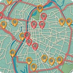 Infographie   La carte des radars à Lyon   Le Guide de l'Automobiliste