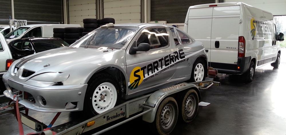 championnat france autocross loic retrouve le podium sport auto. Black Bedroom Furniture Sets. Home Design Ideas