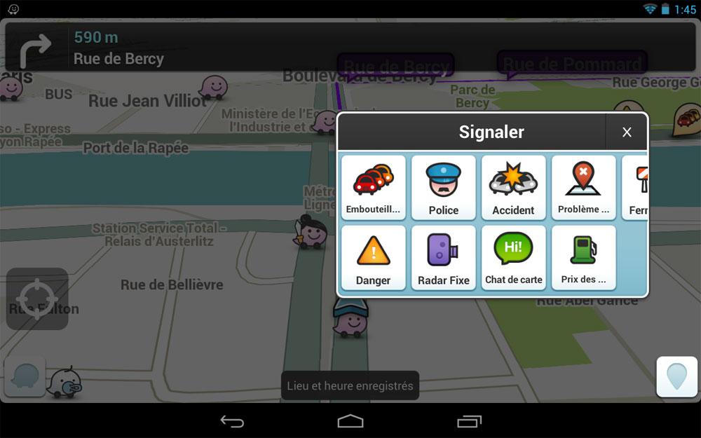 l 39 application gps gratuite pour smartphone waze le guide de l 39 automobiliste. Black Bedroom Furniture Sets. Home Design Ideas