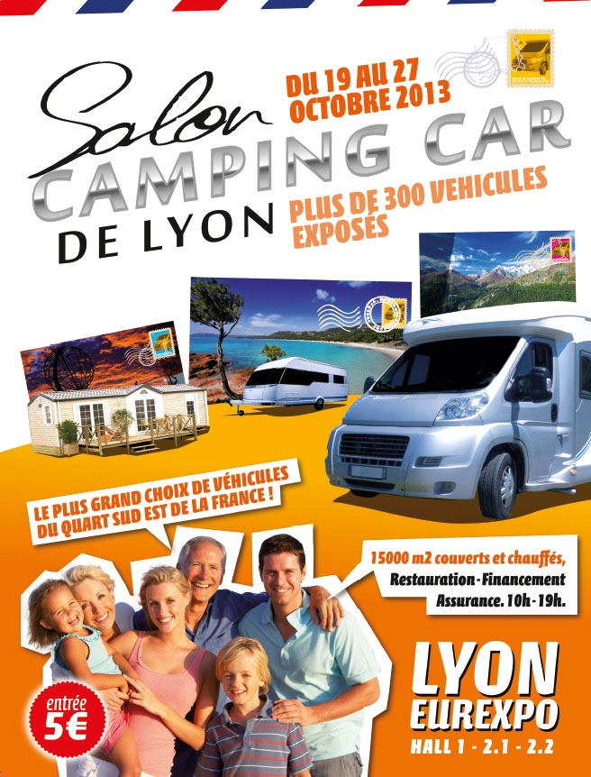 Le salon du camping car de lyon actu starterre for Salon lyon eurexpo