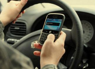 Téléphone au volant 2014