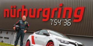 Renault Megane R.S 275 Trophy-R Nürburgring
