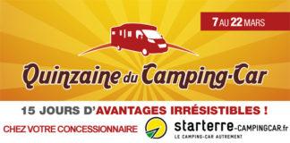 quinzaine campingcar