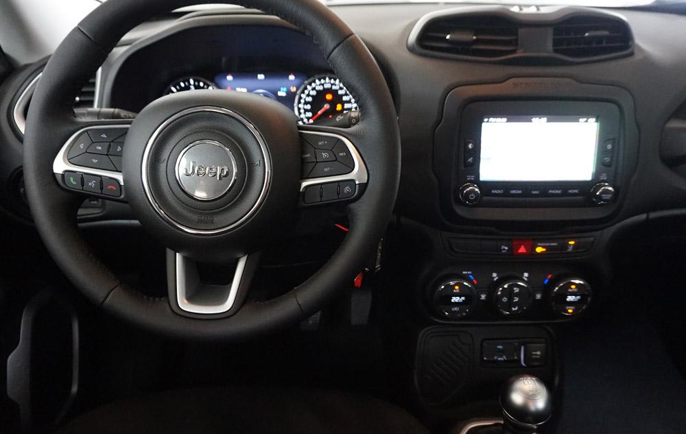 Jeep Renegade conduite