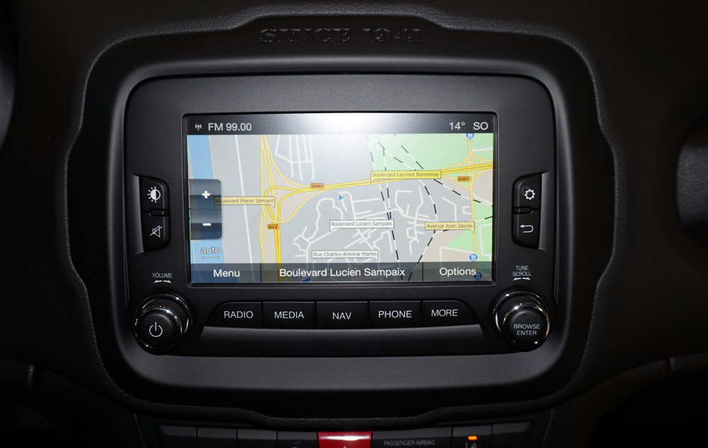 Jeep Renegade gps