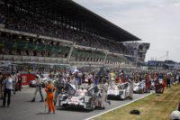 24h du Mans auto 2015 - la grille de depart