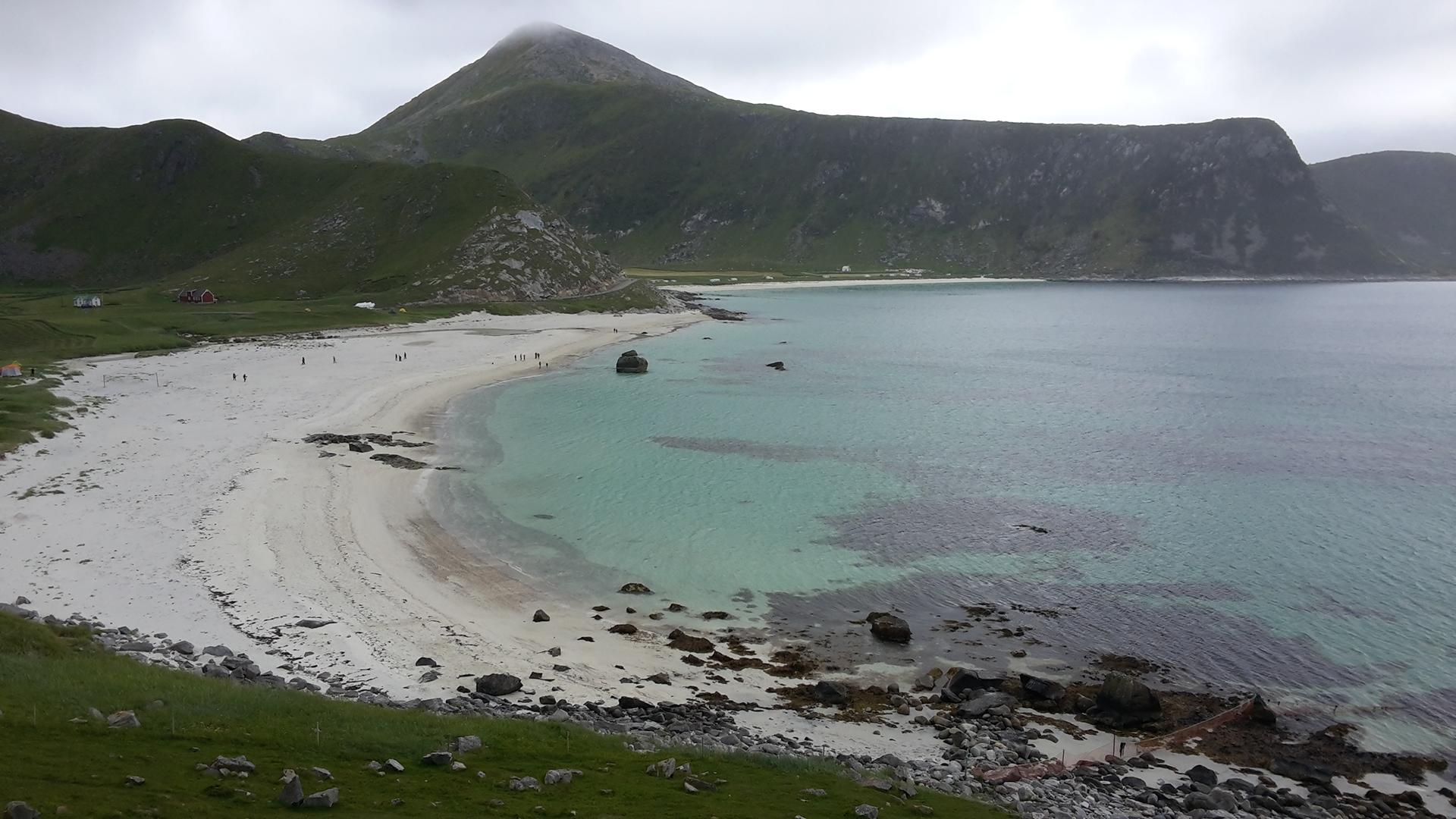 plage Hauckland Norvège