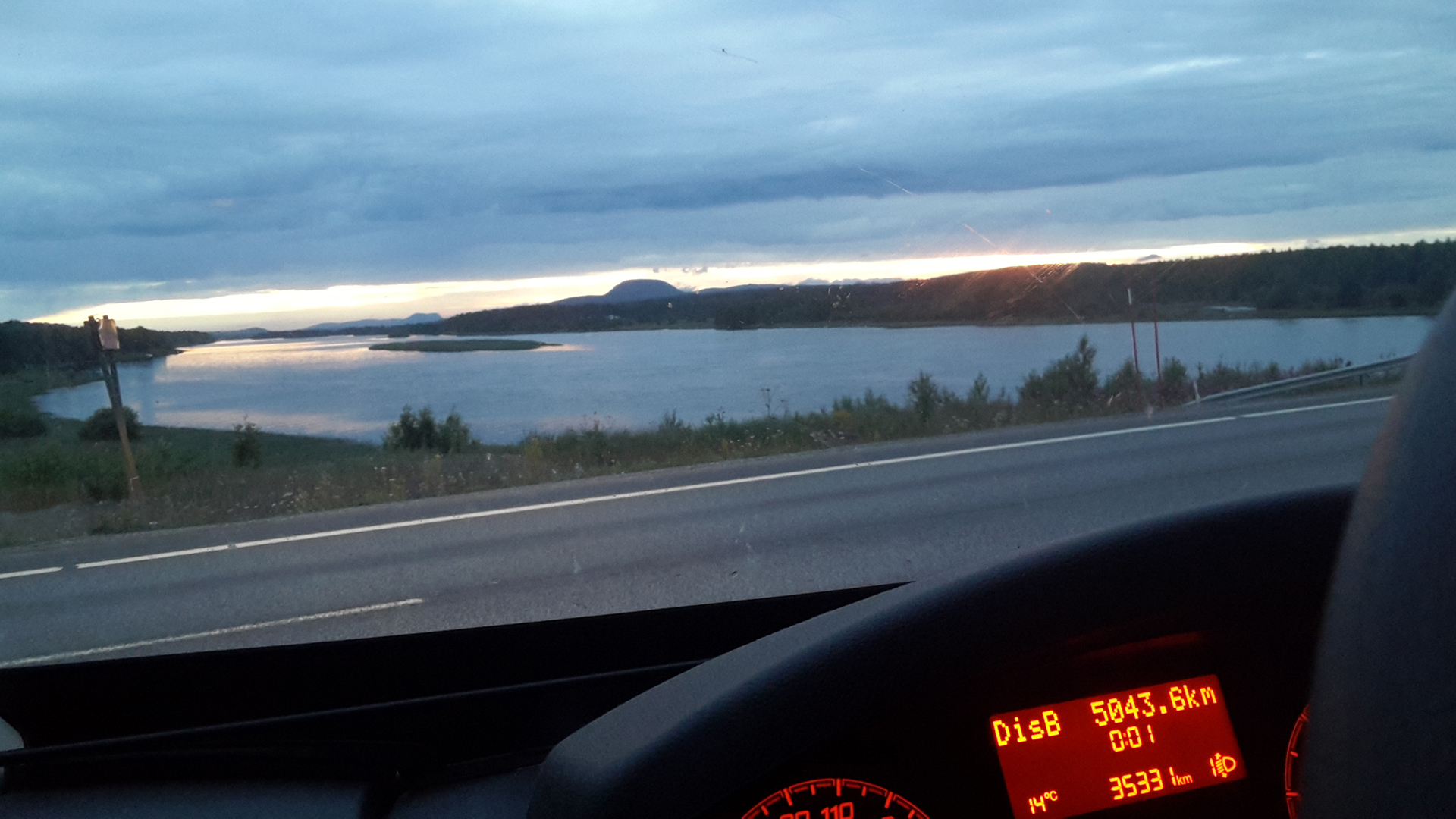 Mer Baltique en camping car
