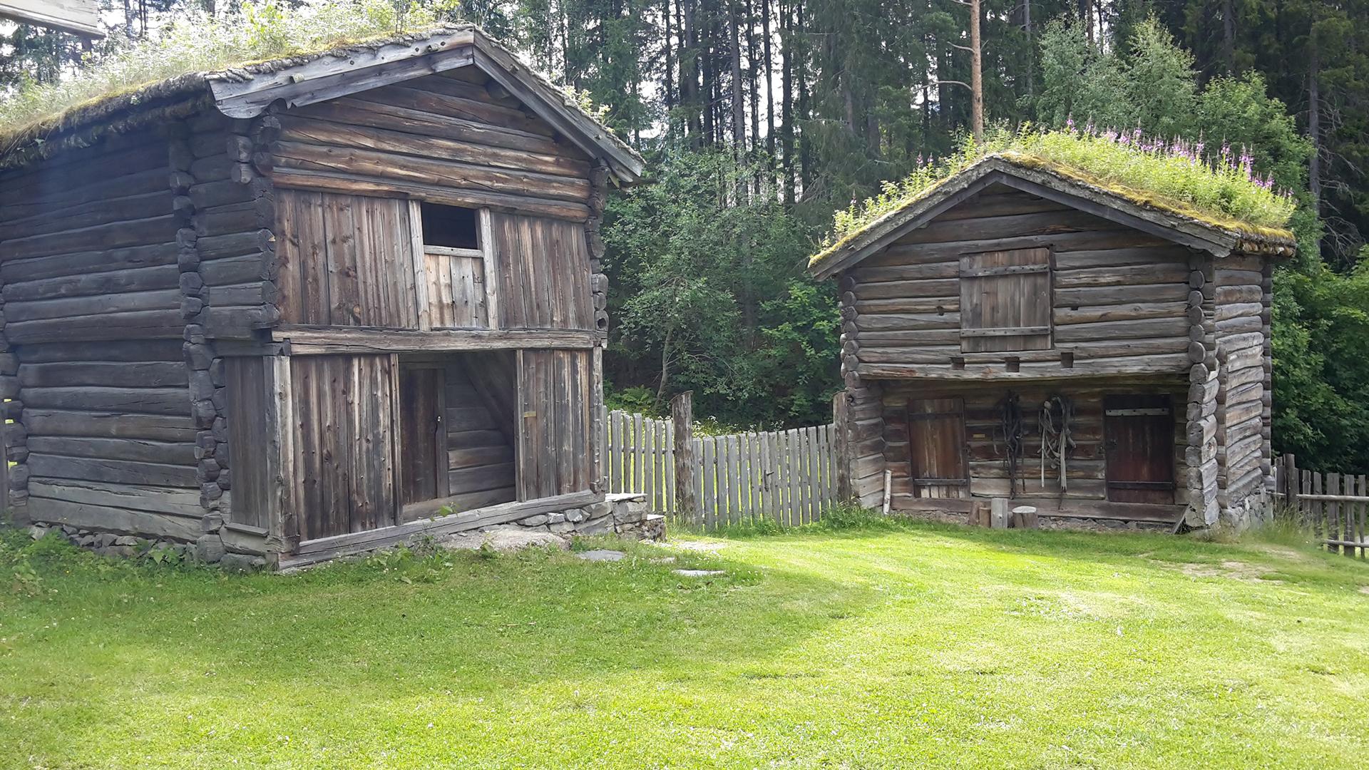 chalet traditionnel norvège