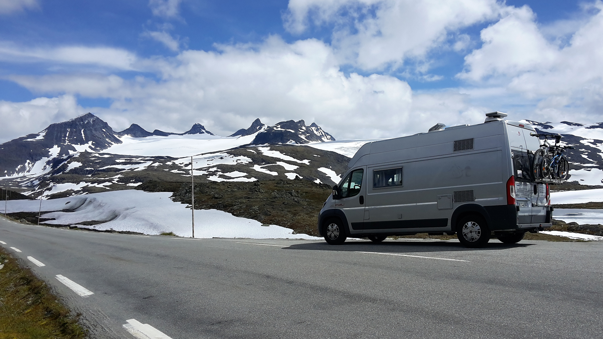 route 55 Norvège camping car