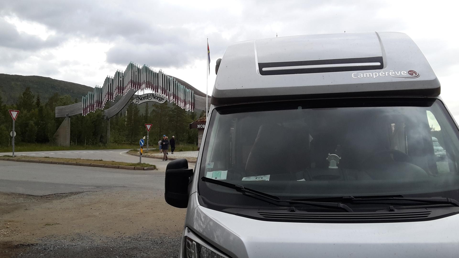 route Cercle Polaire Norvege