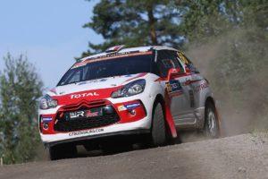 Vincent Dubert   WRC Junior   Finlande 2016