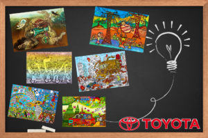 concours dessin Toyota