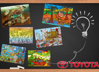 concours dessin Toyota