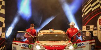 Junior WRC - podium Vincent Dubert classement général