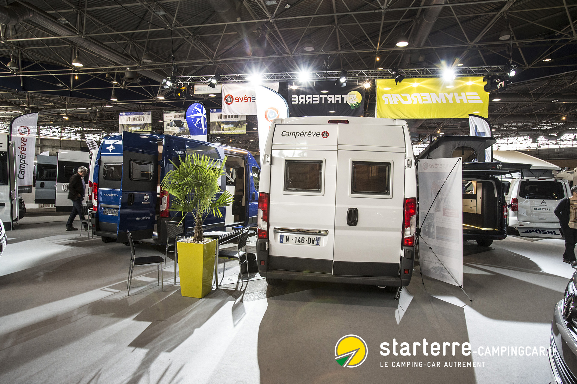 salon du camping car de lyon 2017 nouveaut s 2018 actu starterre. Black Bedroom Furniture Sets. Home Design Ideas