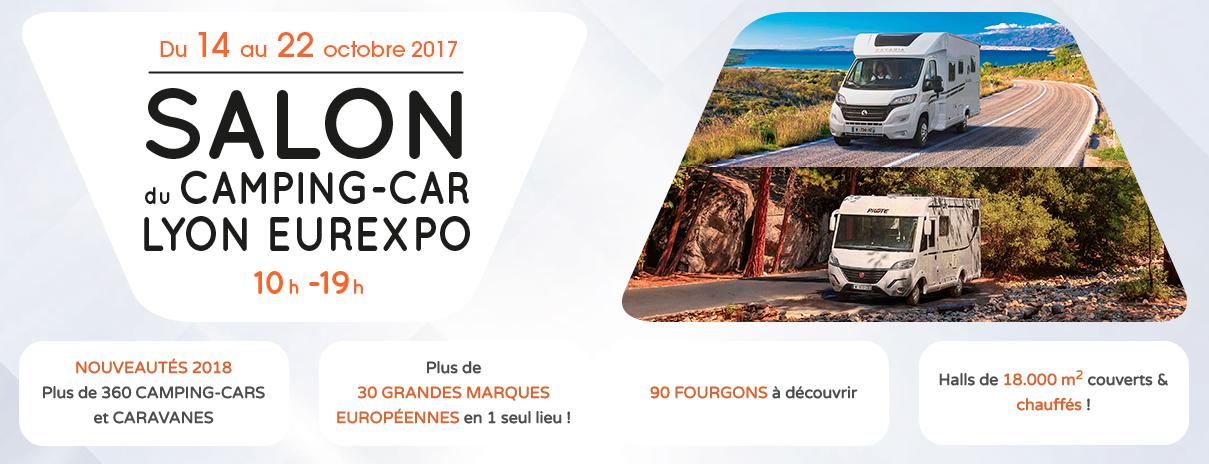 Salon du camping car de lyon 2017 nouveaut s 2018 actu for Salon de lyon 2017