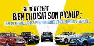 Bien choisir son pick-up