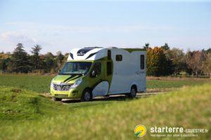 Modèle HARAS – Un camion chevaux au service des professionnels