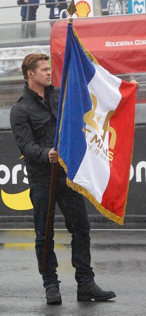 Gille Vitry © Brad Pitt - 24h du Mans