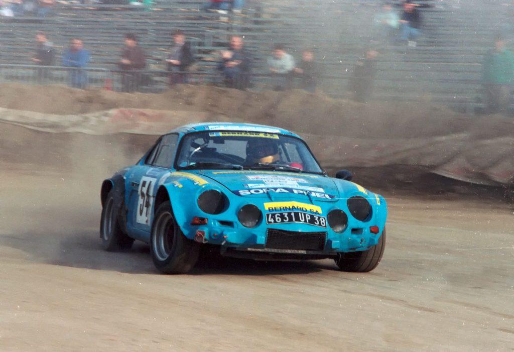 Gilles Vitry - Alpine - 1986 DEFI TF1
