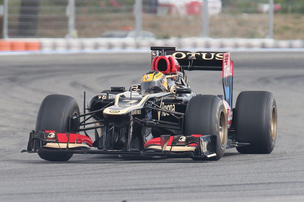 Gilles Vitry - Castellet Lotus F1