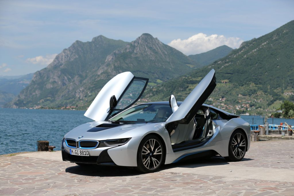 Gilles Vitry - BMW i8 Italie Motors TV