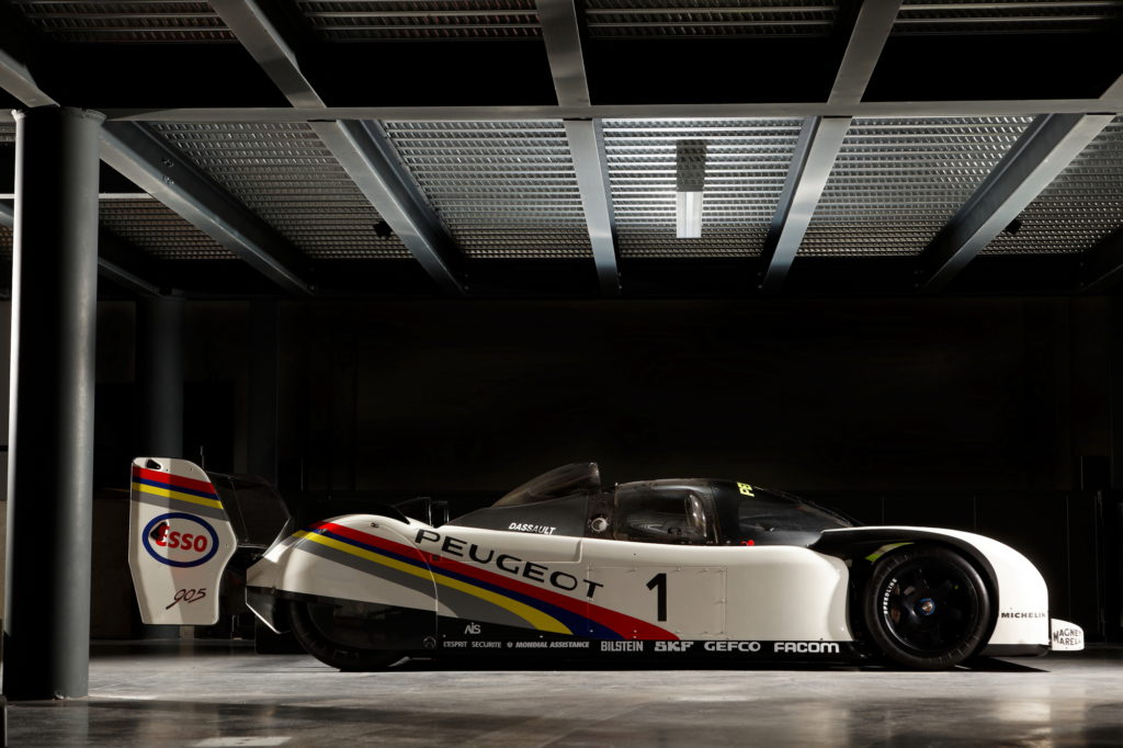 Gilles Vitry © Peugeot 905 Supercopter