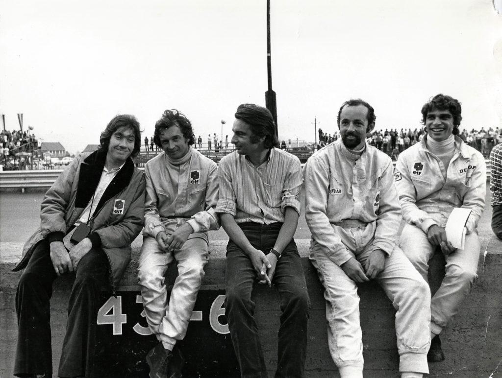 Gilles Vitry © Manou Zurini - Jean-Pierre Beltoise - Niki Lauda - Henri Pescarolo - François Cevert