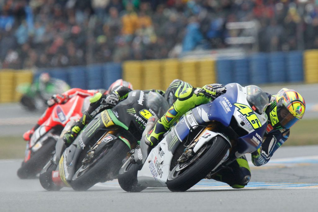 Gilles Vitry - Valentino Rossi - GP France - Le Mans
