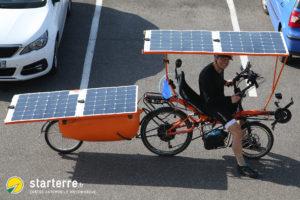 Vélo solaire - Laurent Souchet - Starterre