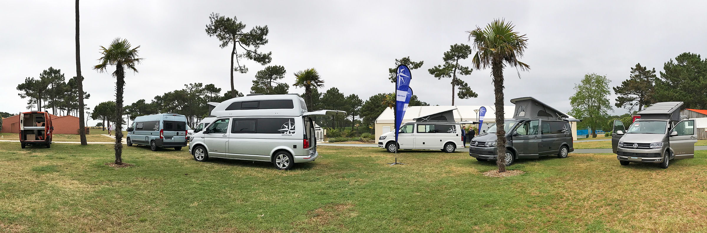 Gamme fourgons 2019 - convention Westfalia 2018