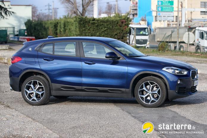 Le BMW X2 : une déclinaison valorisante du SUV