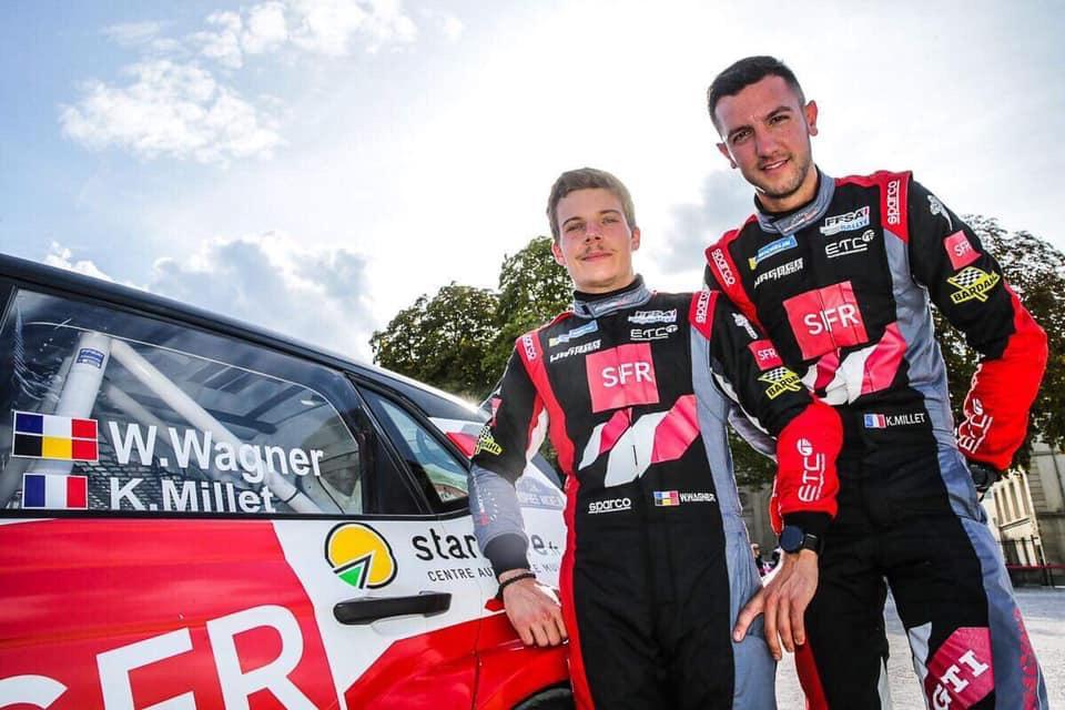 William Wagner - Kevin Millet - Sébastien Loeb Racing