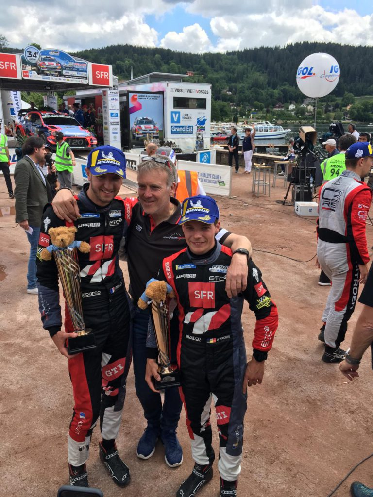 Une partie du team Sébastien Loeb Racing