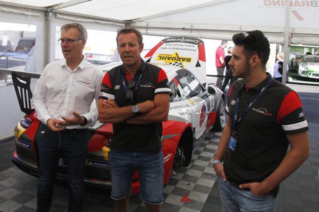 Team Sebastien Loeb Racing sur Magny Cours 2019