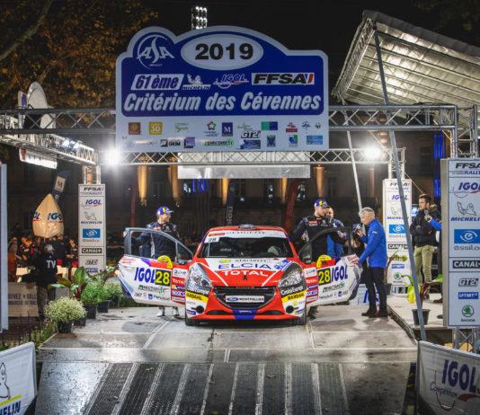 Présentation voiture SLR critérium des Cévennes 2019