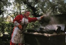 gigot bitume sur évènement Maison du petit monde en beaujolais