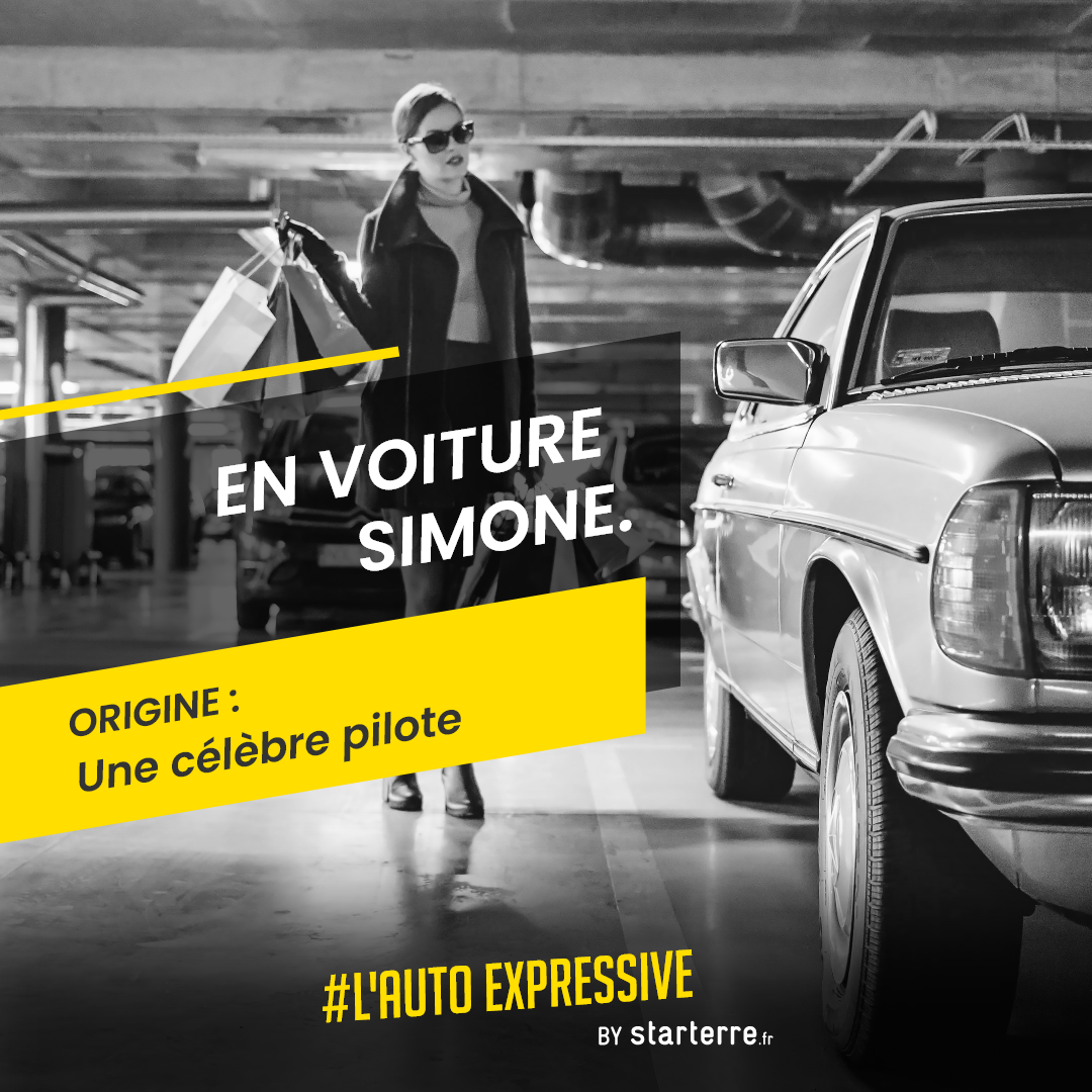 origine expression en voiture simone